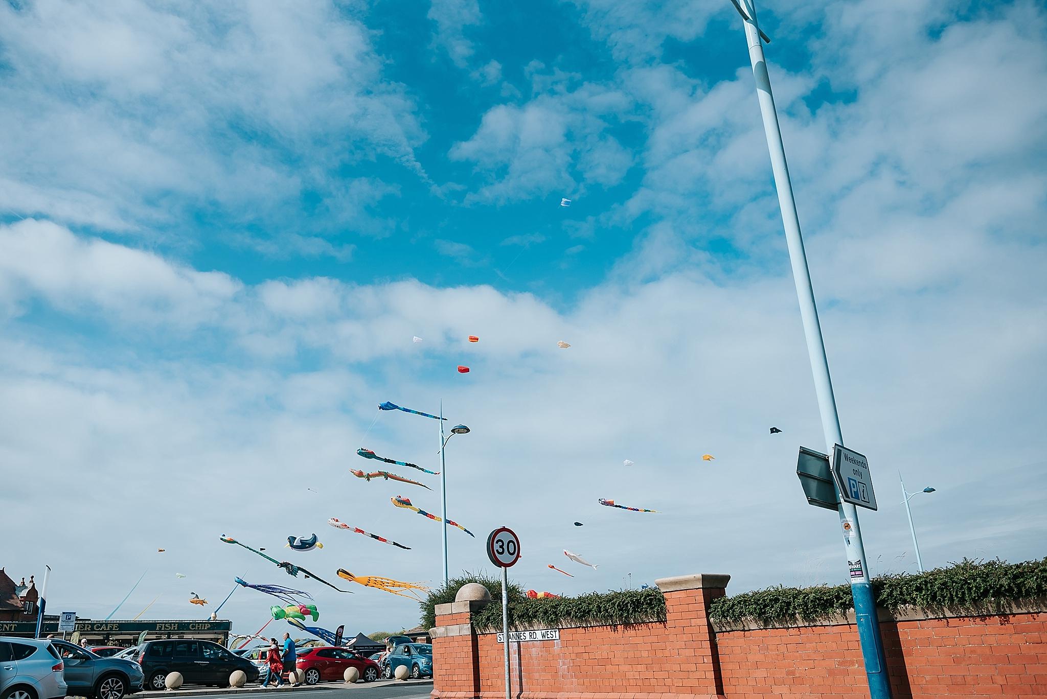 kite festival in st annes