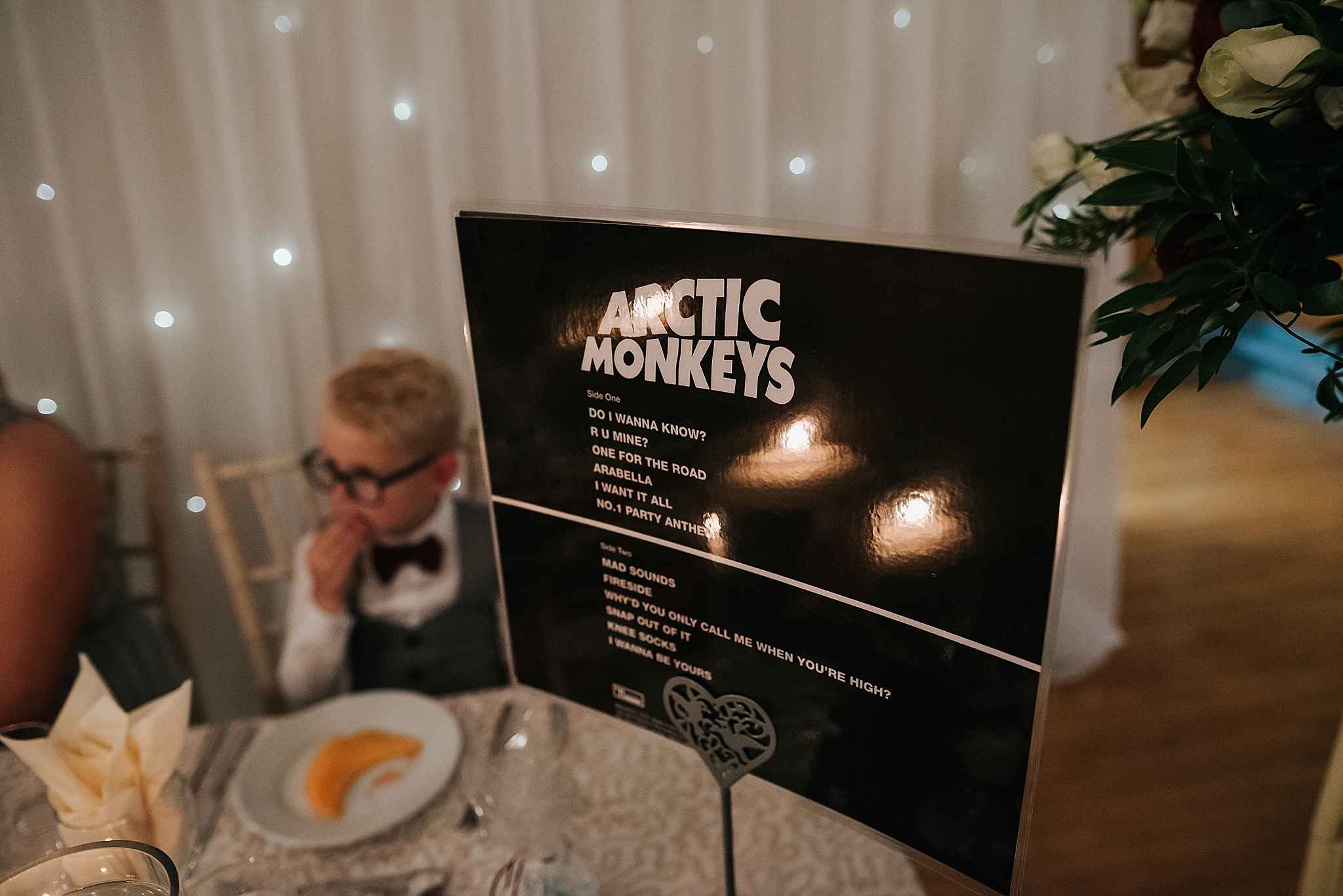 music themed wedding in lancashire