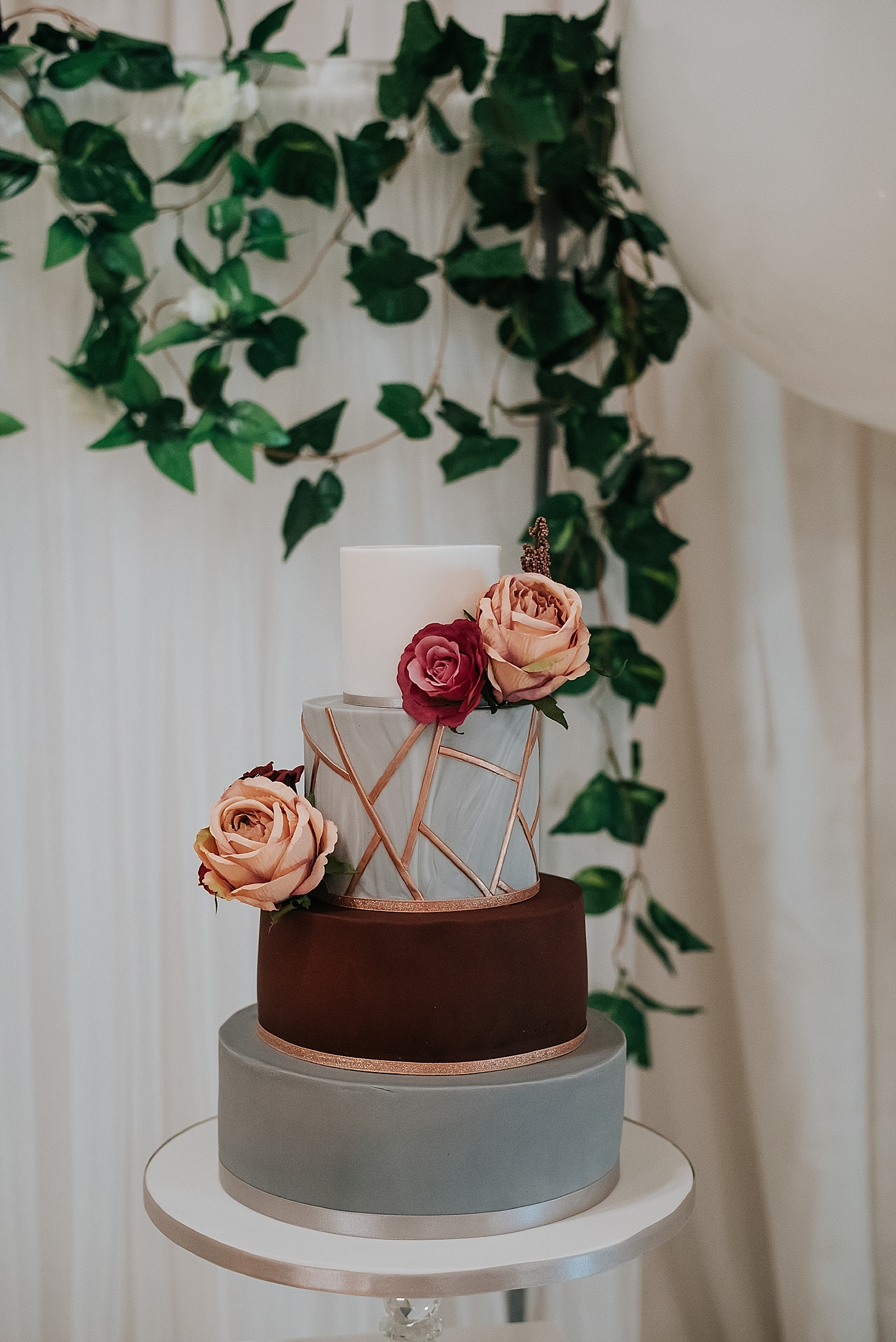 wedding cake by say it with cakes