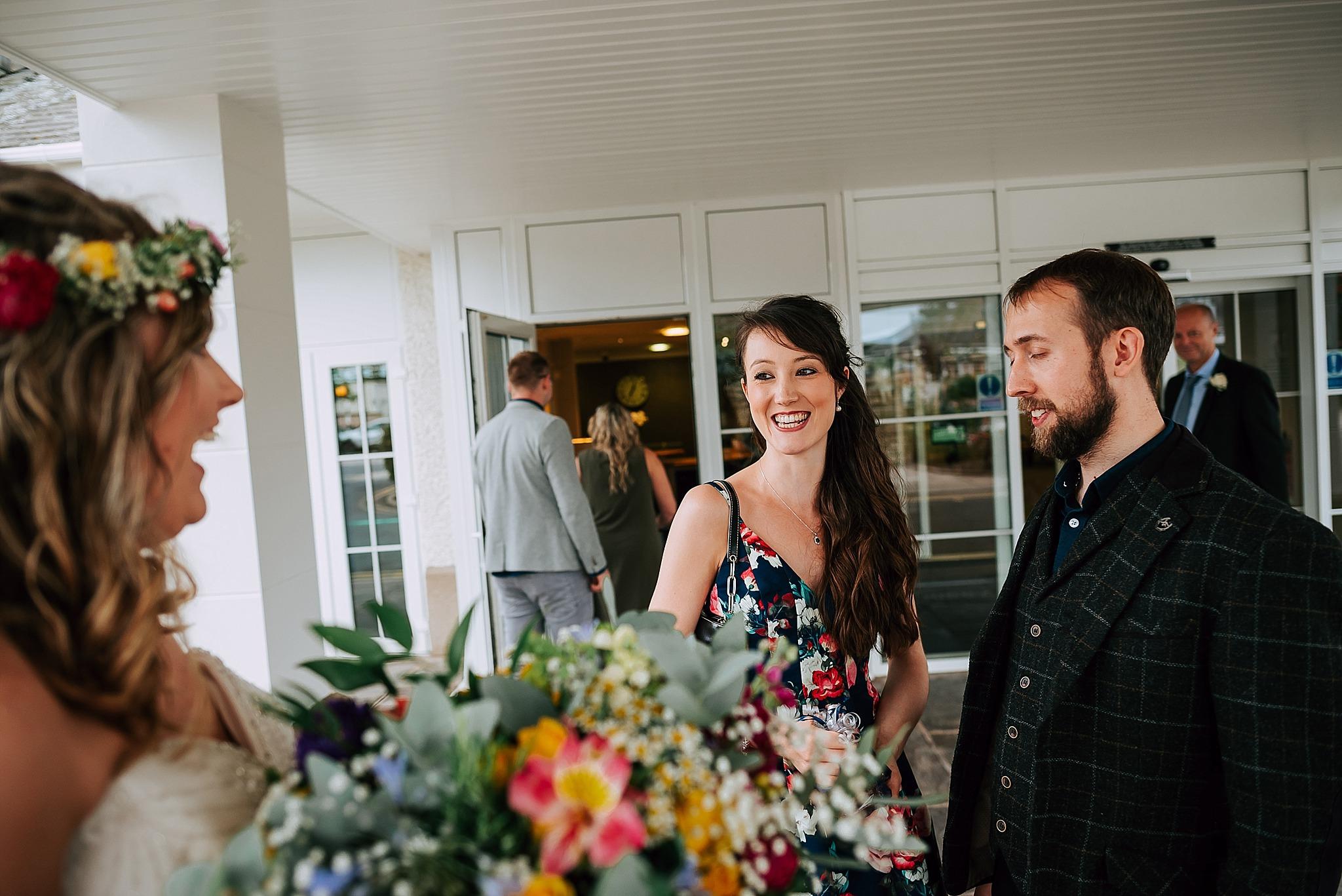 summer wedding at ribby hall village on the fylde coast