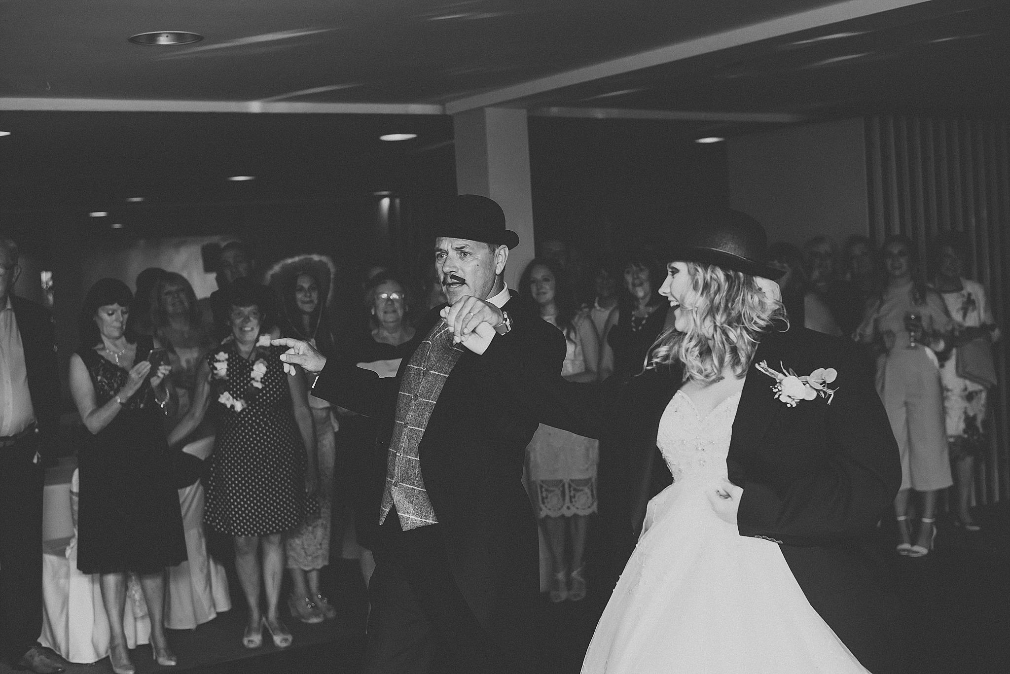 wedding evening reception at ribby hall