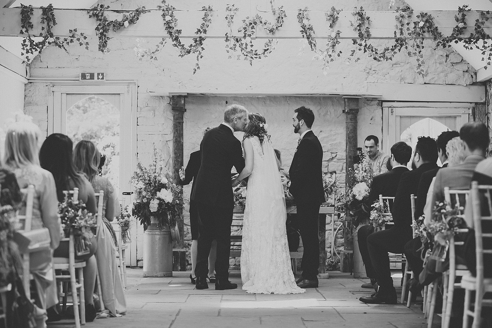 festival wedding at wyresdale park, scorton