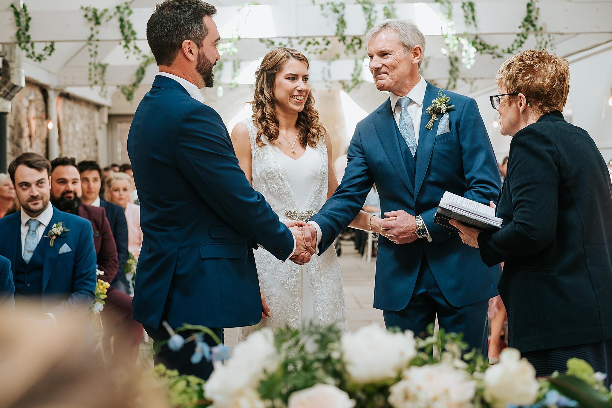 wedding ceremony near preston