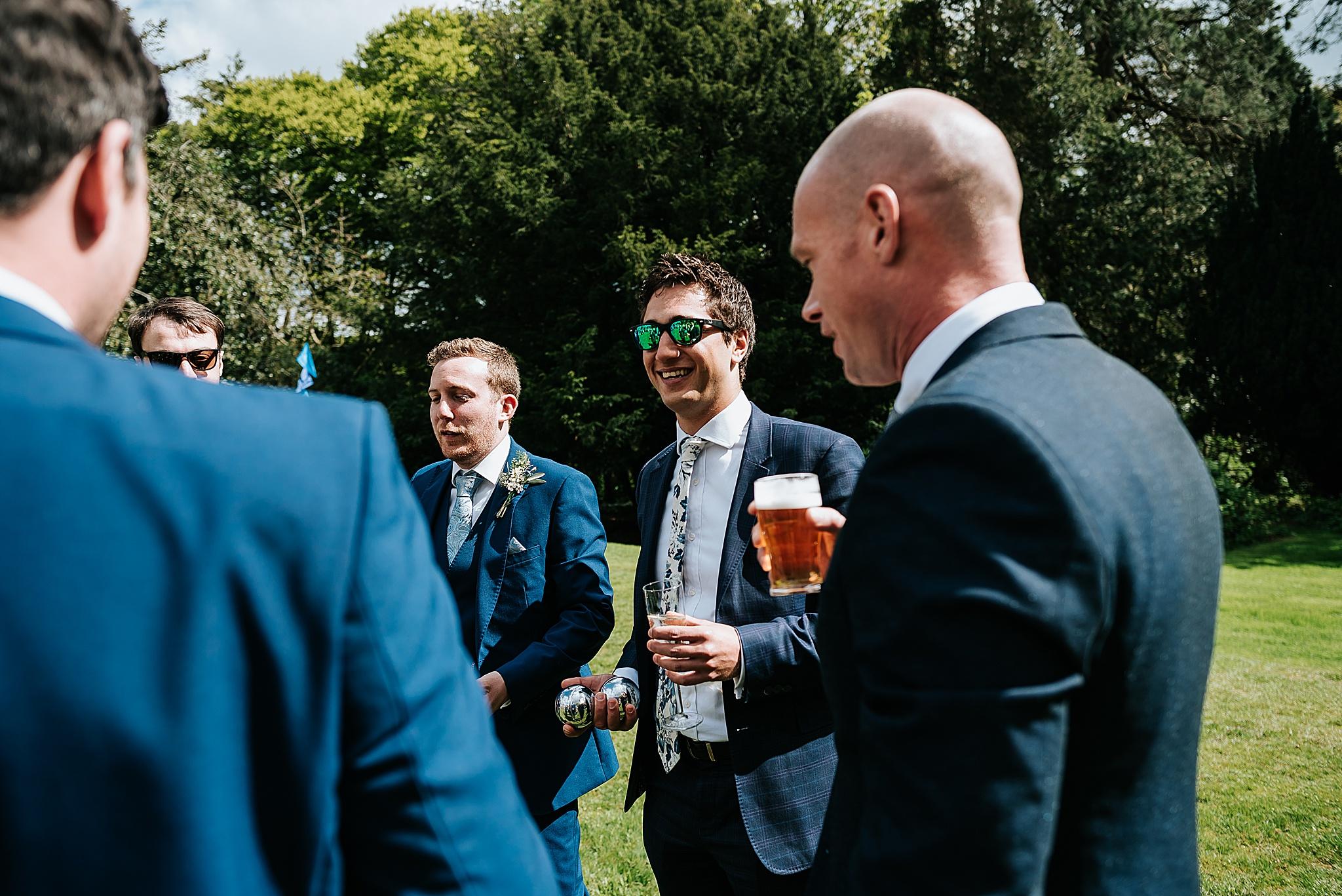 festival wedding photographer in lancashire