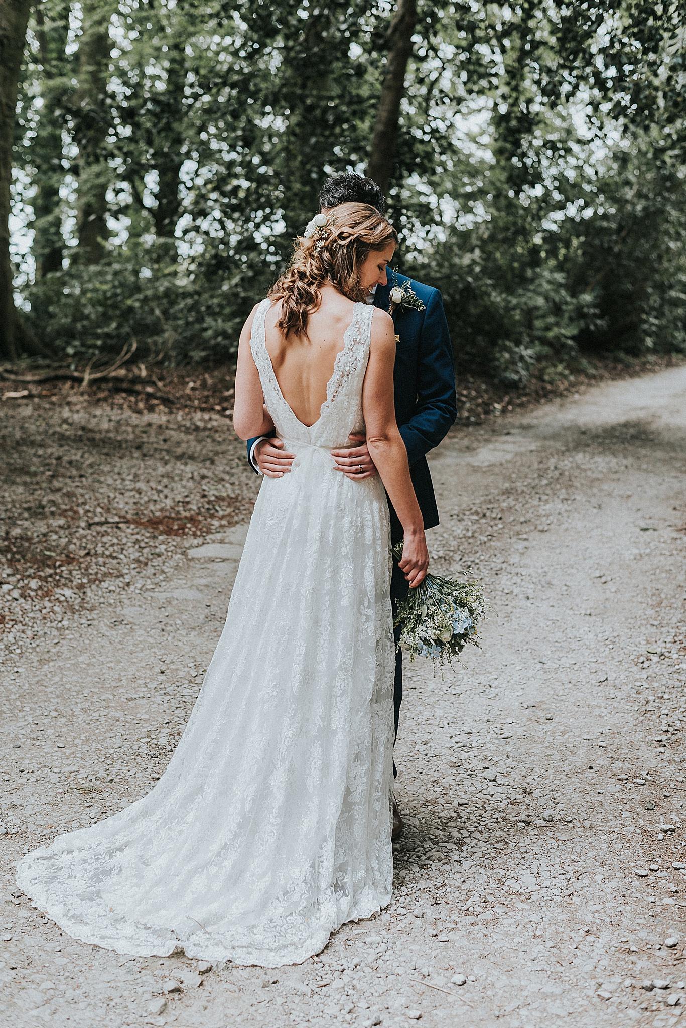 natural wedding photographer in preston