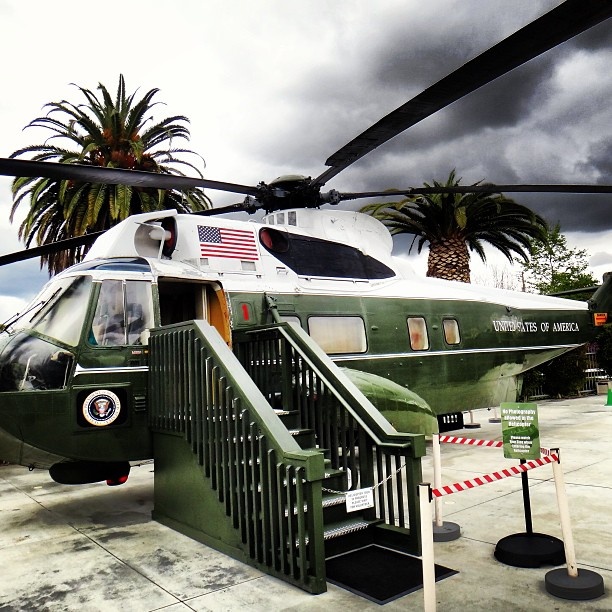 Nixon Library Marine One