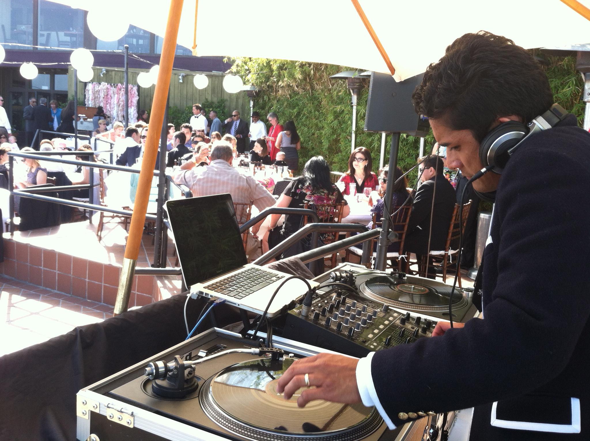 Dance party 1 - Tim & Christina - Dana Point Wedding - Indie Wedding DJ Orange County