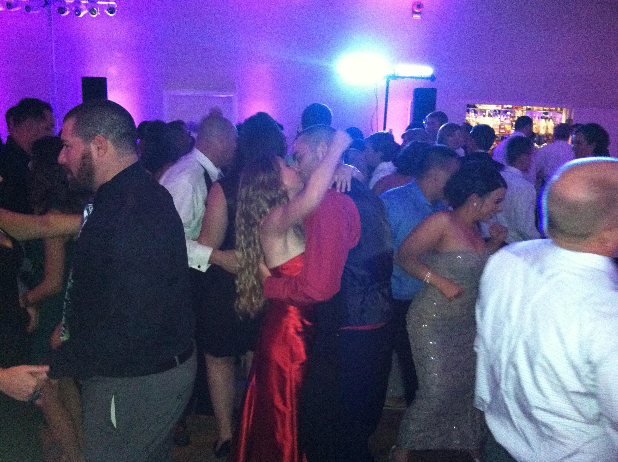 Love on the dance floor.