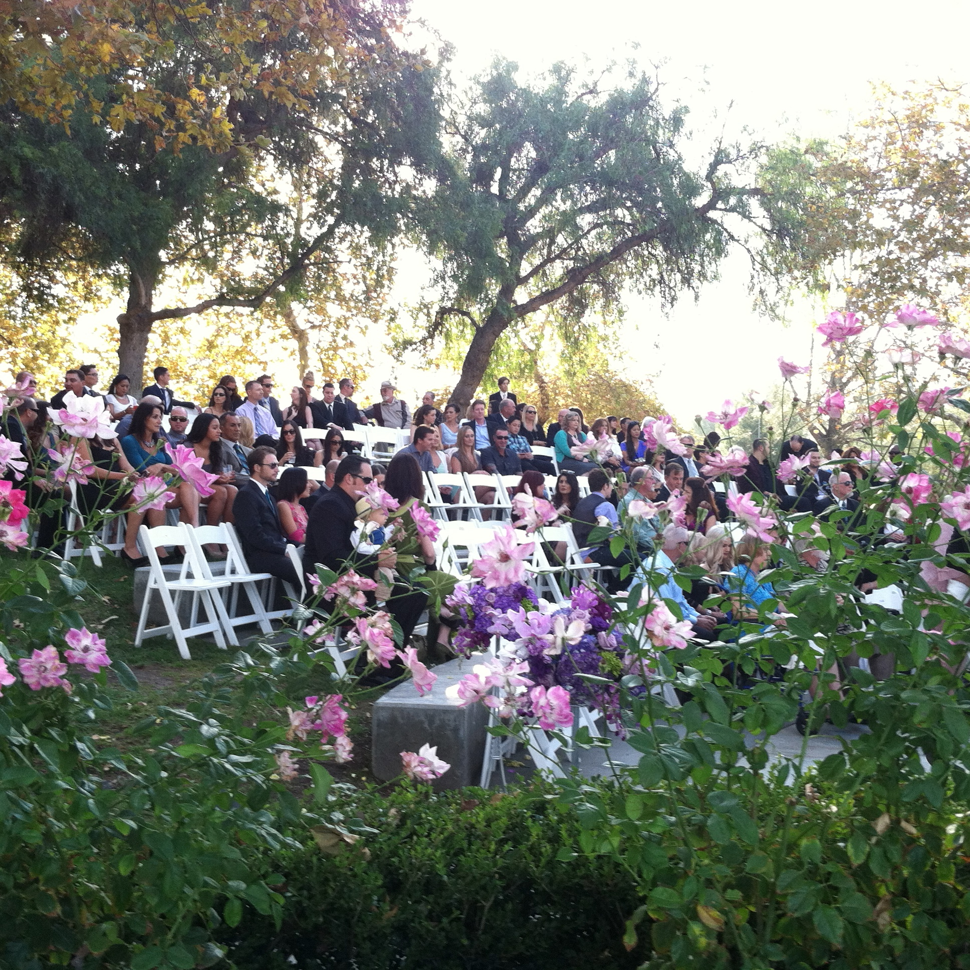 Ceremony at the Summit House Restaurant
