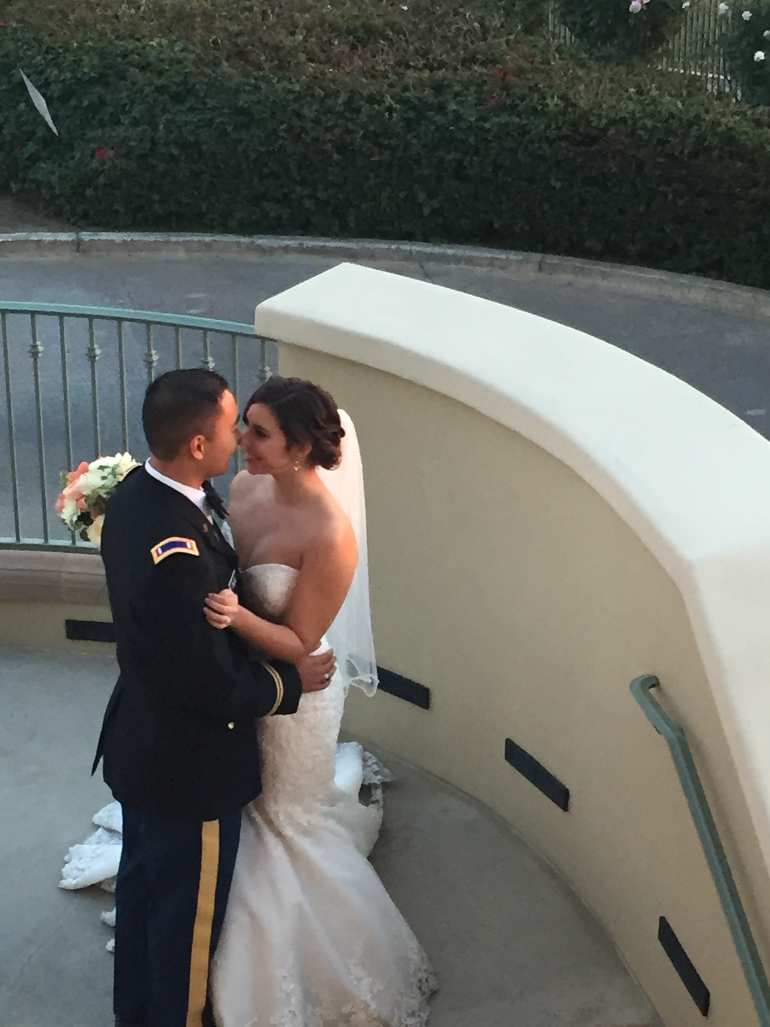 West Point Wedding Couple at Red Hill Country Club.JPG