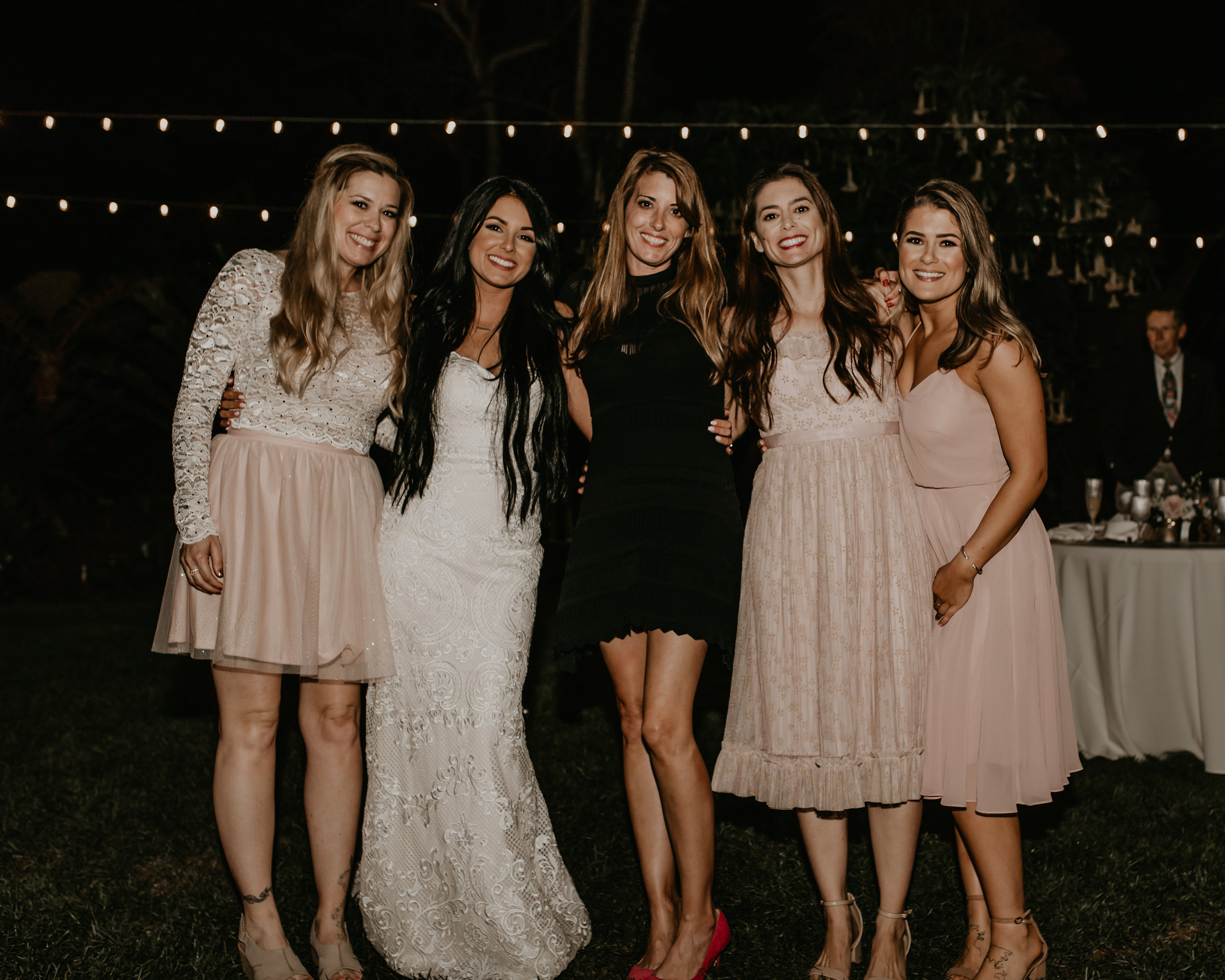 wedding at San Diego botanic garden