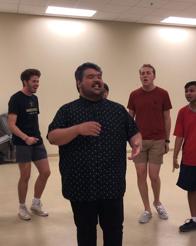 @heyitsmariojose, come back whenever you want to Nashville. Had such a blast singing with this guy the other day in rehearsal.