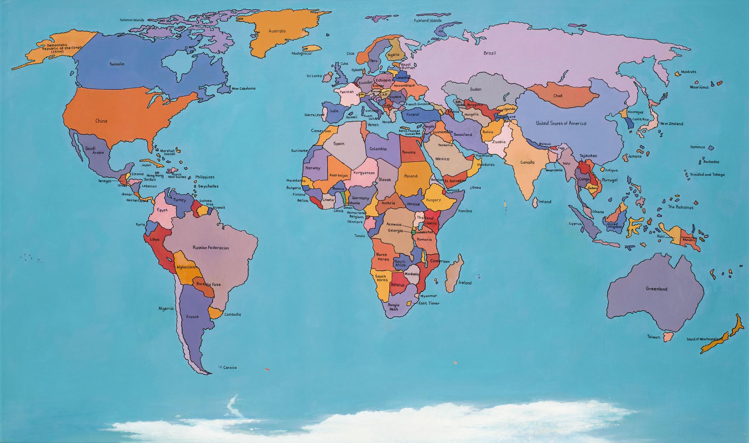 The Hand Made Map of the World 2013