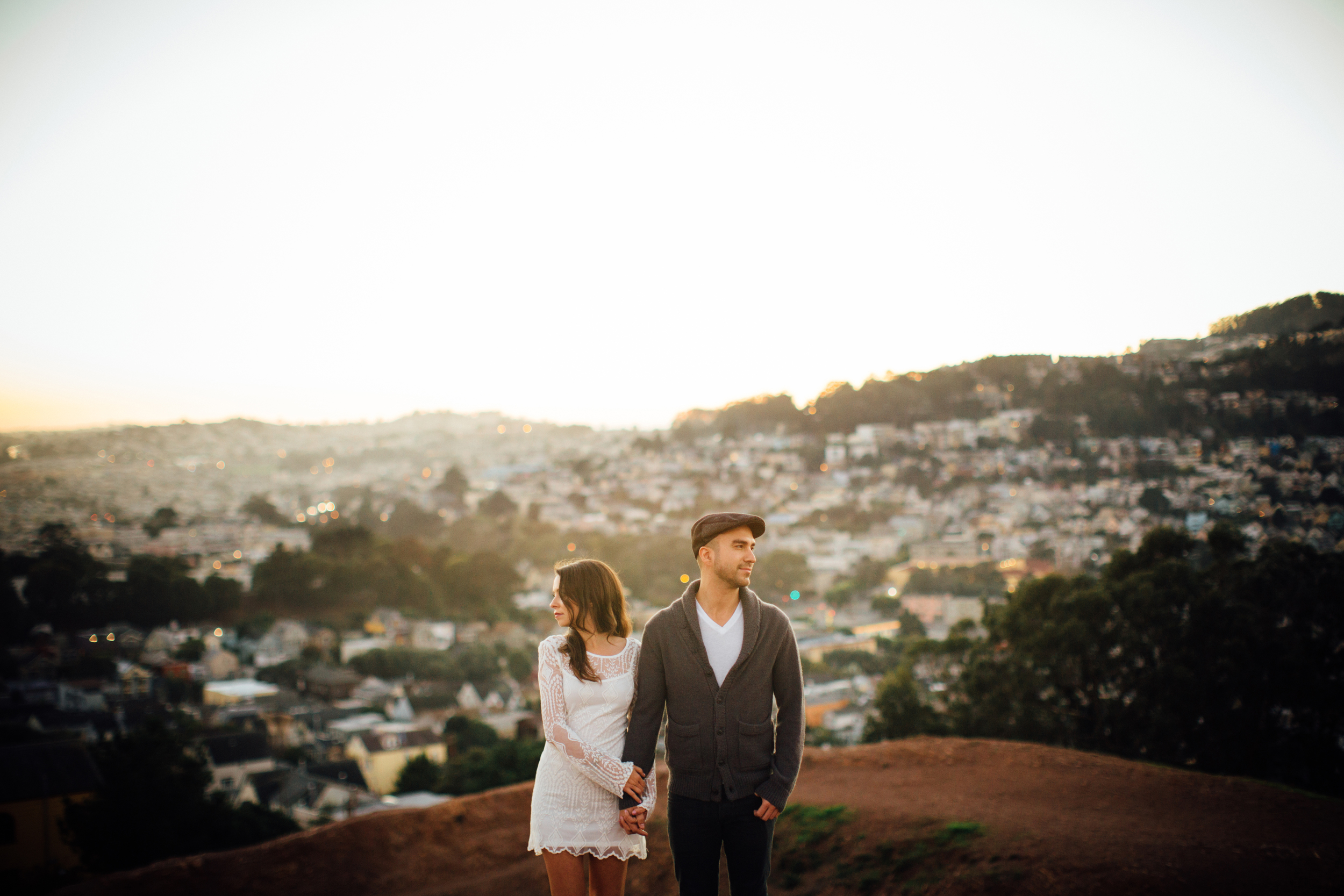 Emily + Dan Urban SF Engagement Photos