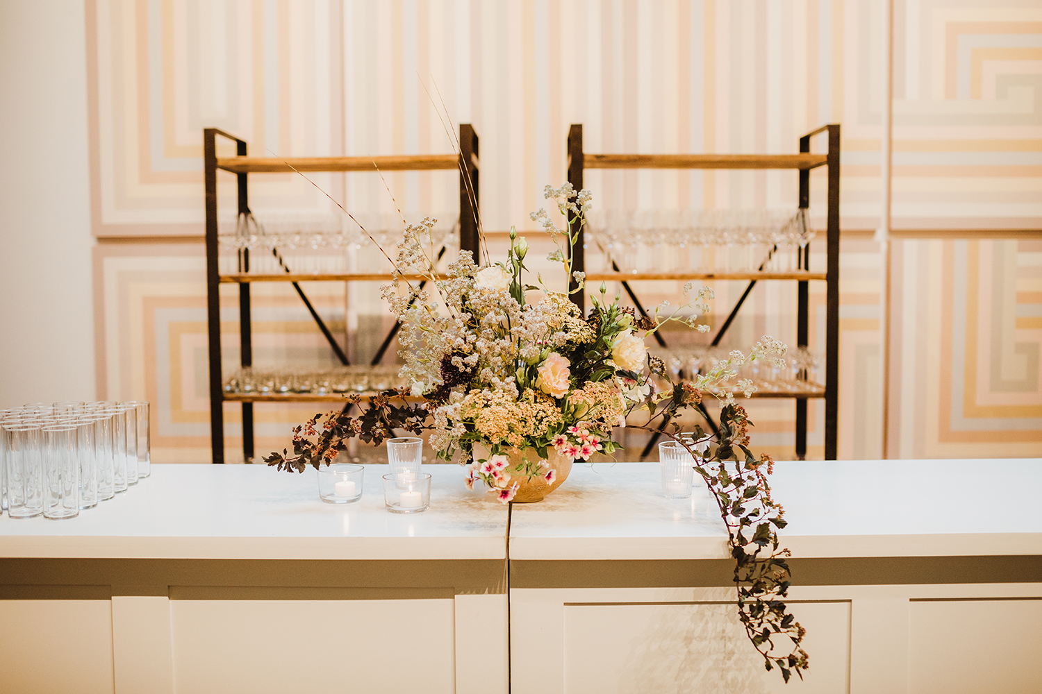 Ashley Smith Events | Hannah Costello | Fogcutter Catering | White Party