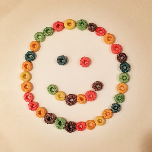 Froot Loop Smiley