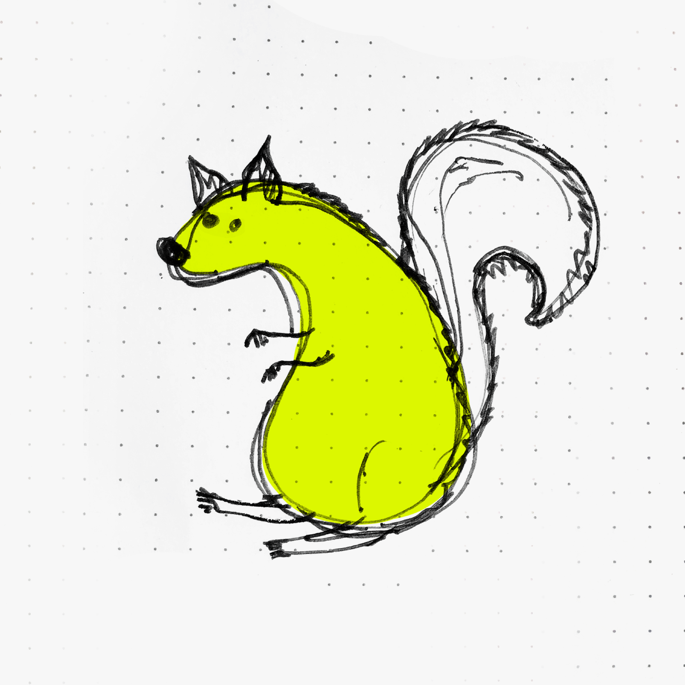 Critter of NYC #2 Ms. Squirrel