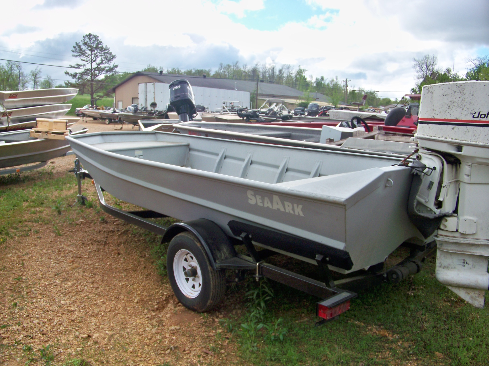 First picture of my new boat.  About 30 seconds later my wife was informed of our new purchase.