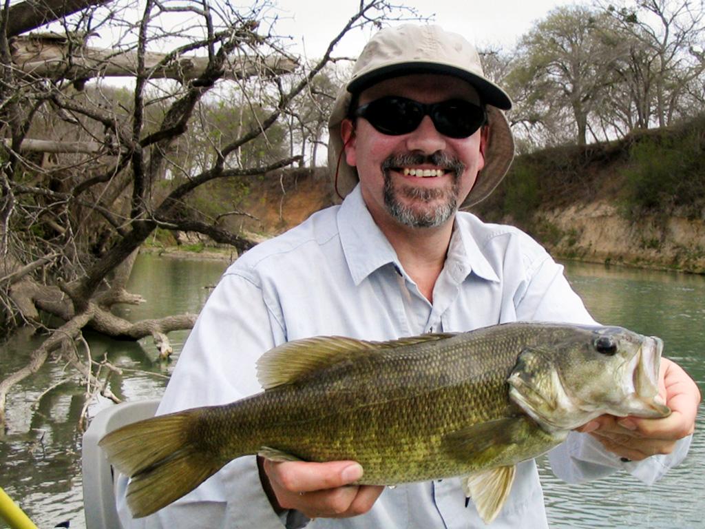 Big San Marcos River Bass