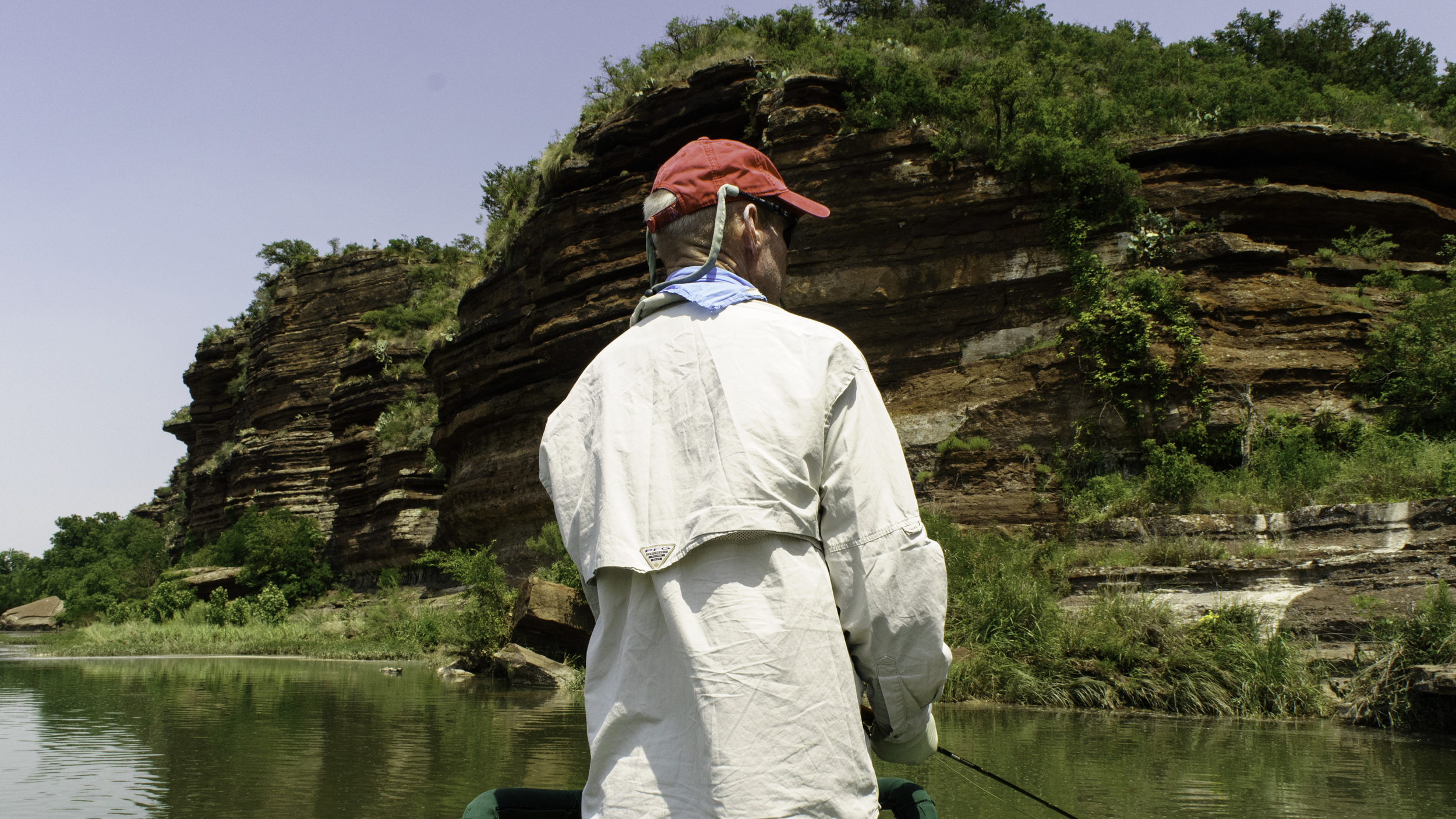 Fly Fishing on the Llano River
