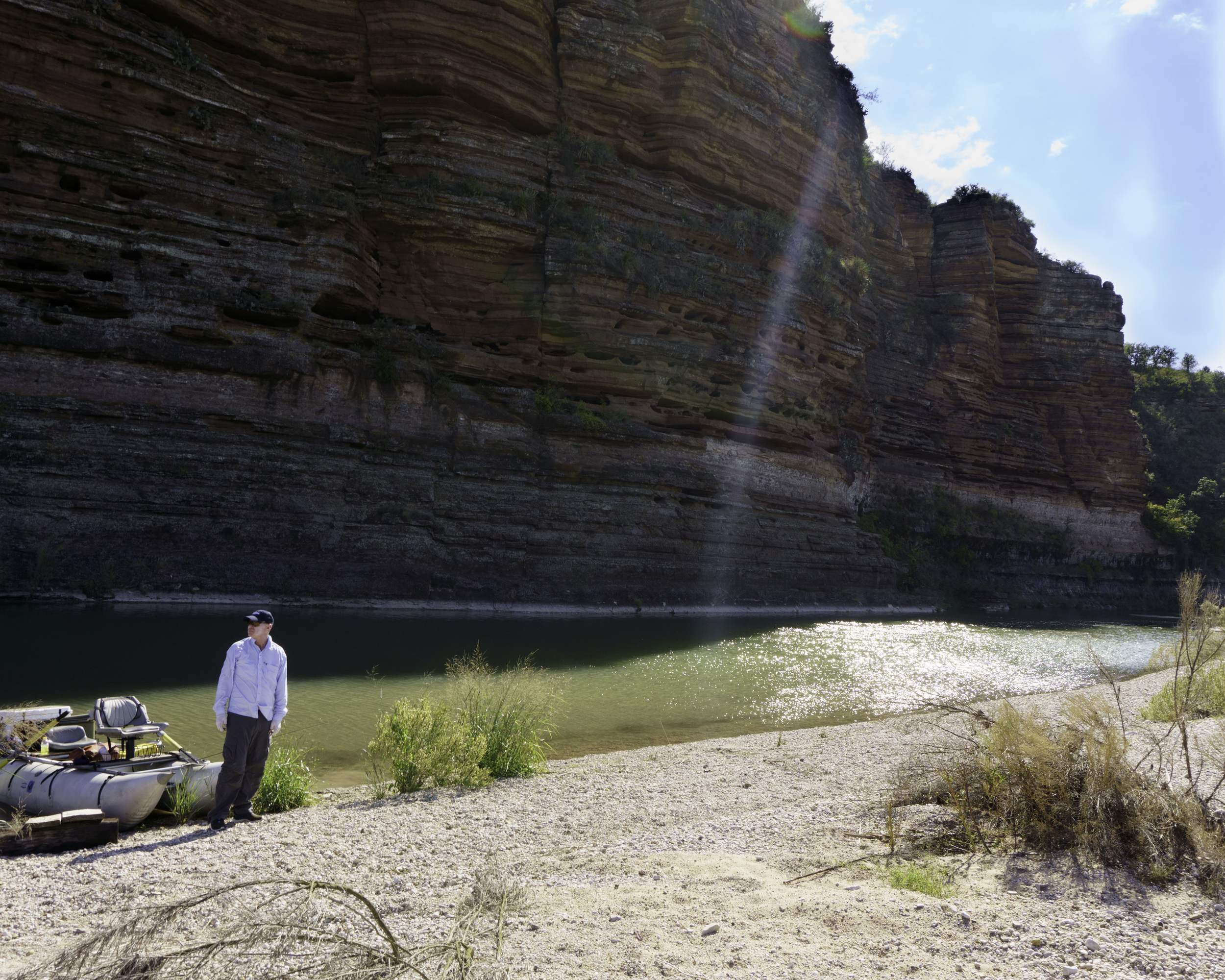 HL Bluffs on the Llano River