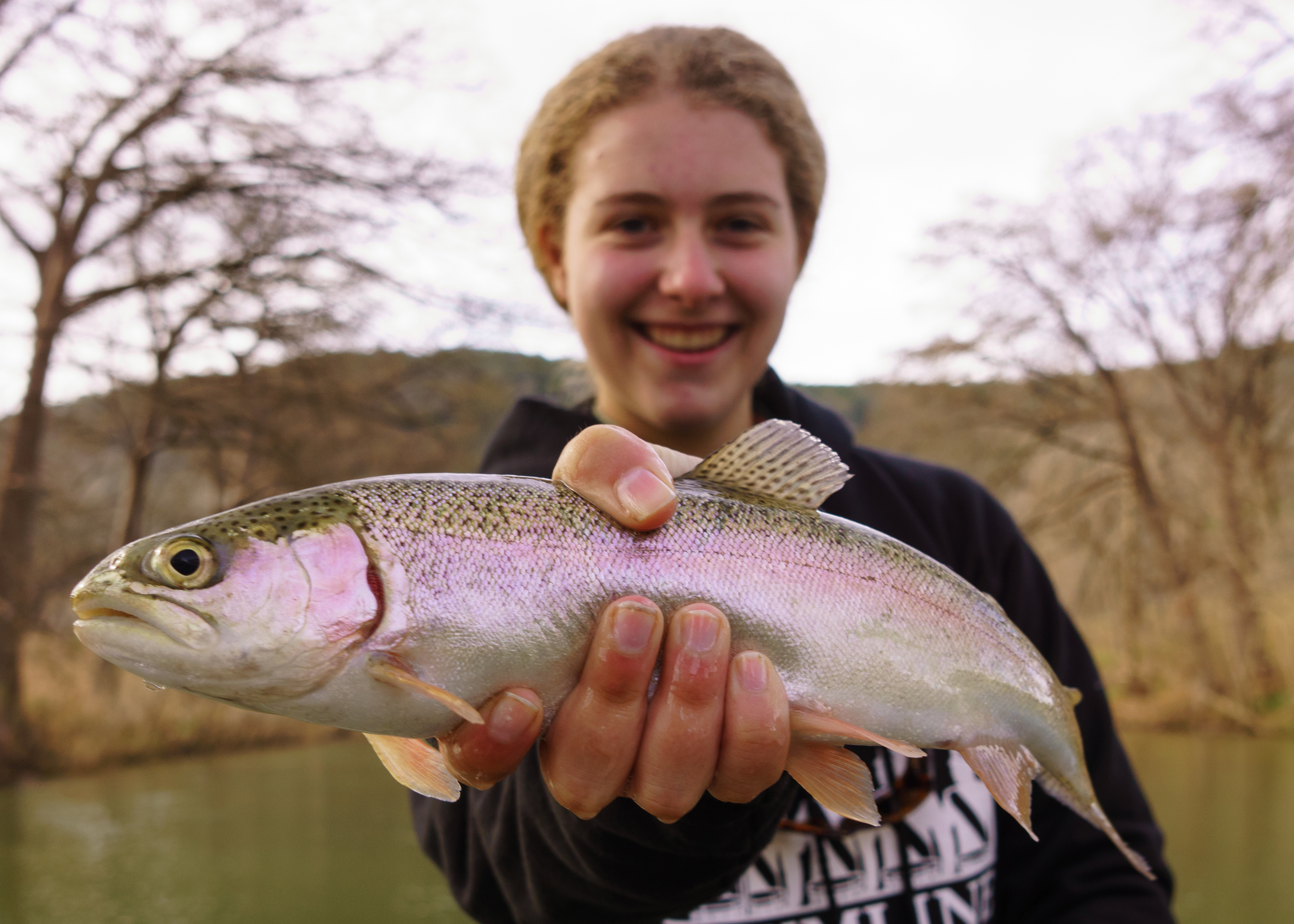 Guadalupe River Rainbow Trout