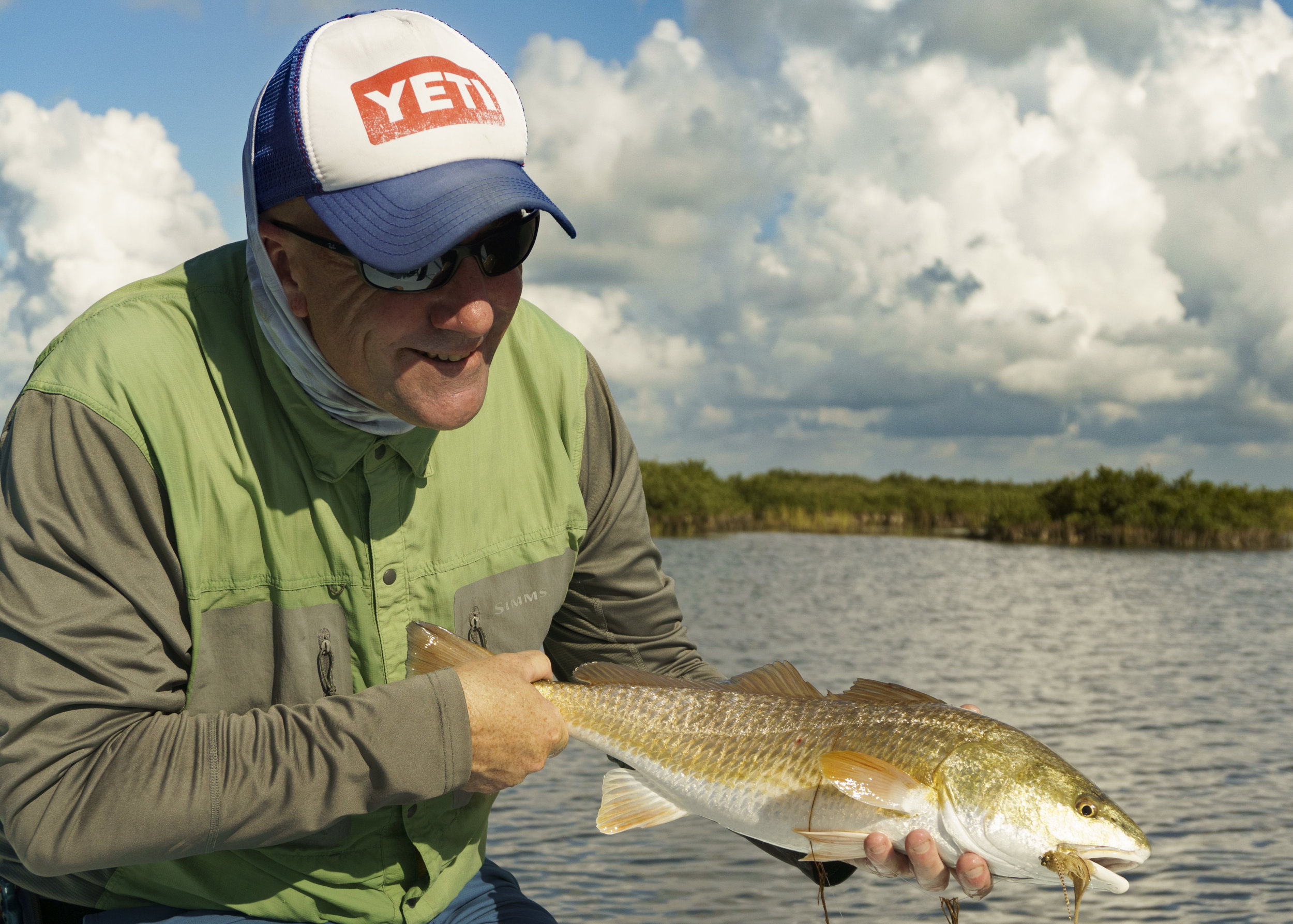 Winston with a Redfish