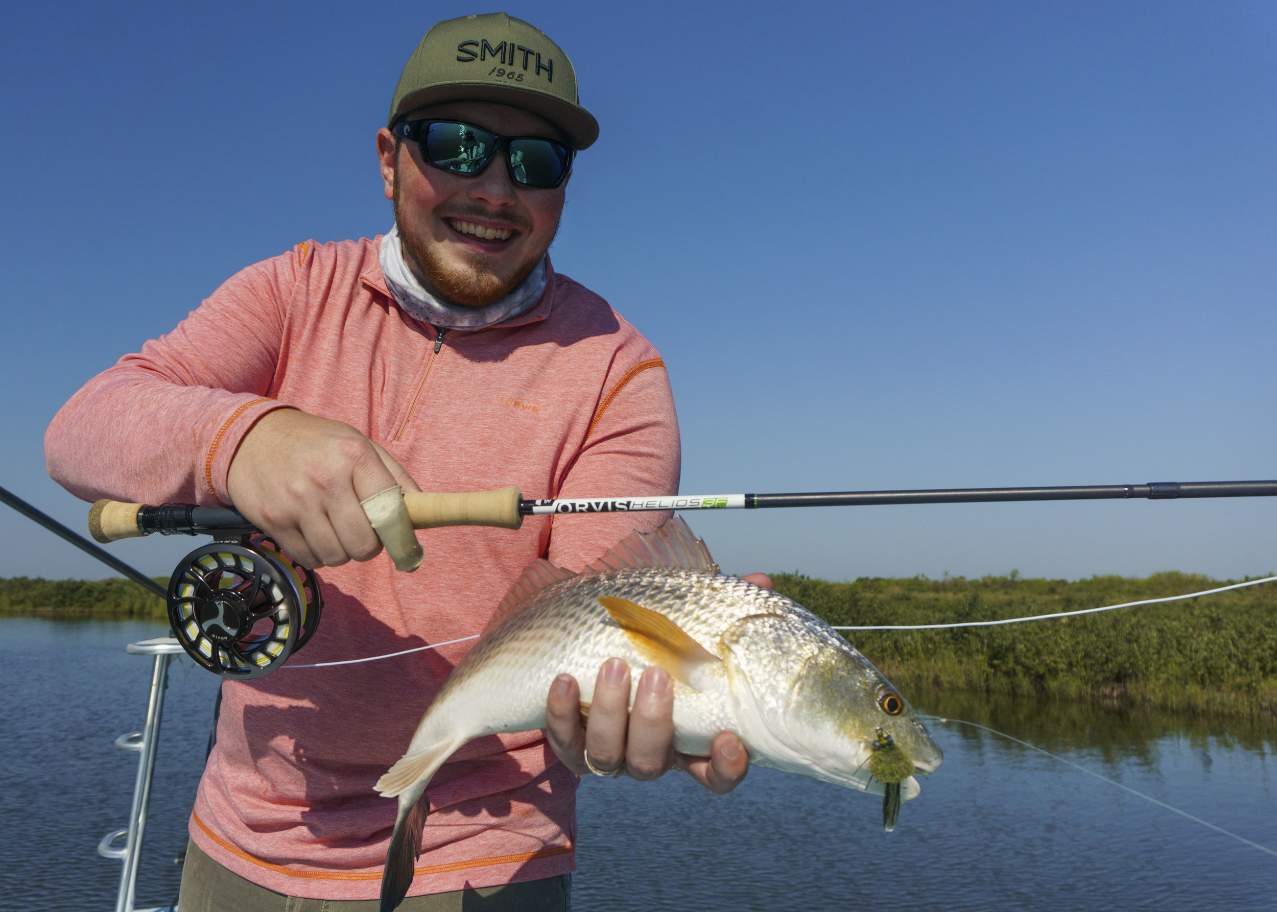 Landon with a Redfish