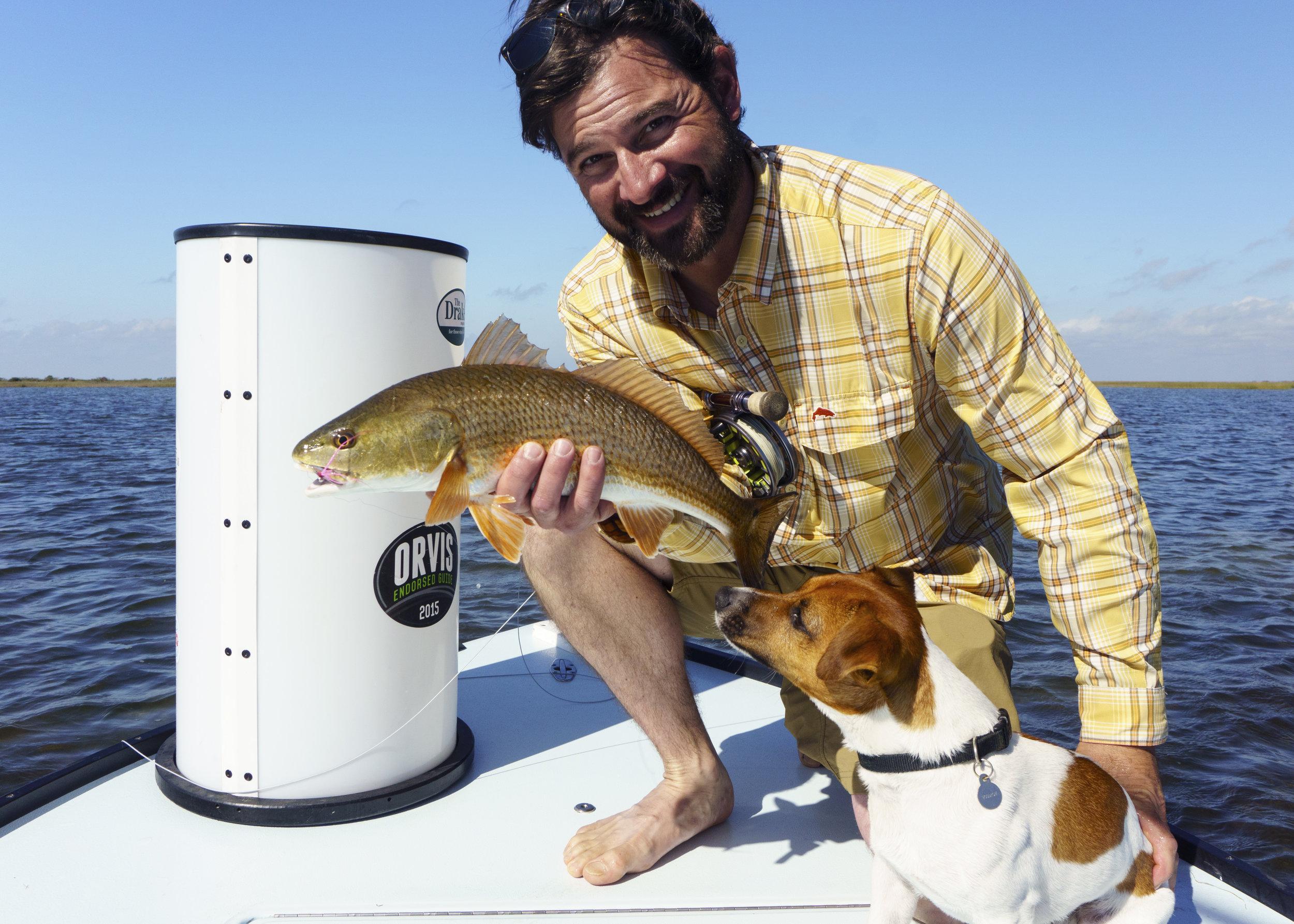 Redfish in the Boat!
