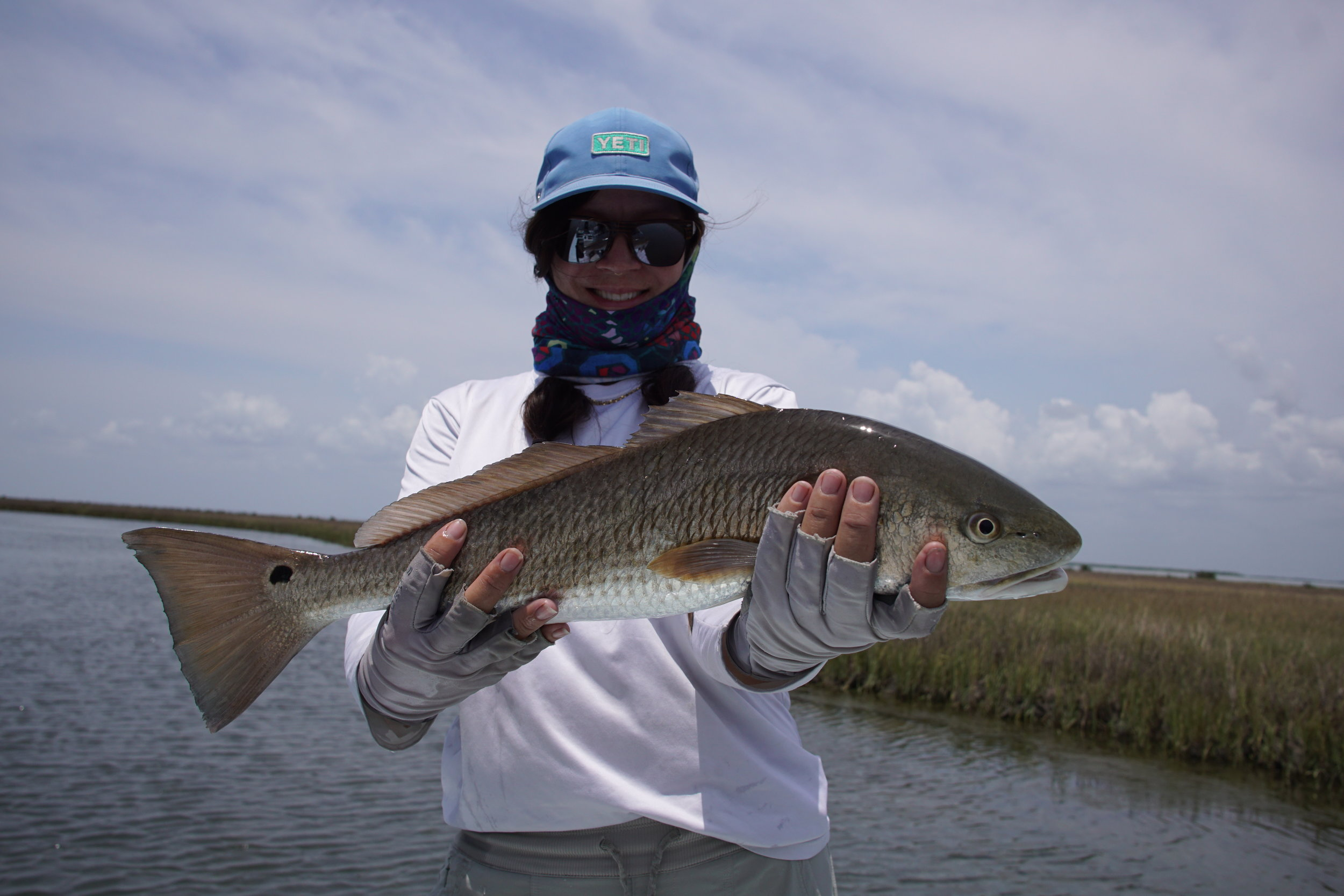 Lenee With a nice redfish