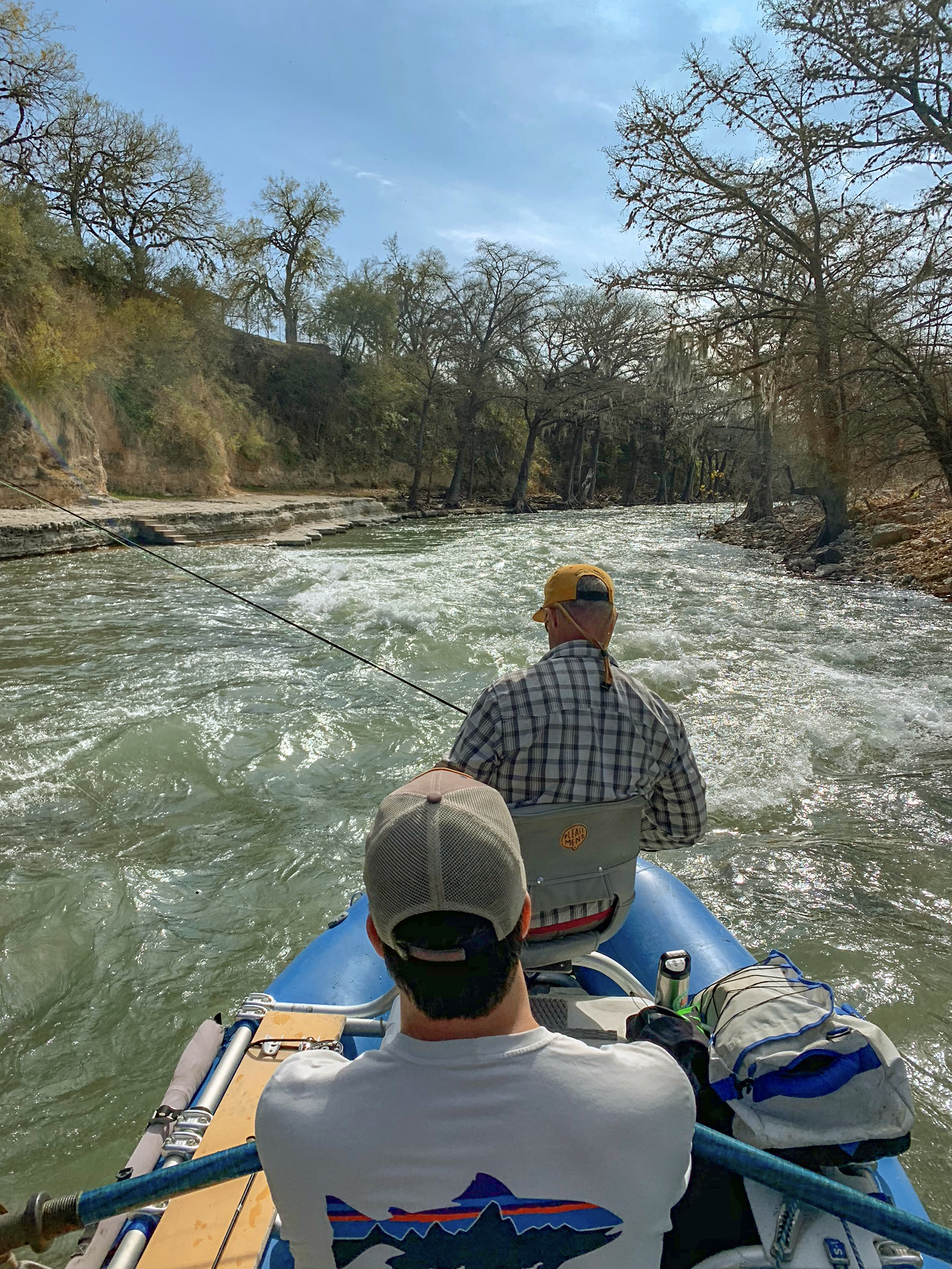 Float Fishing on the Guadalupe River