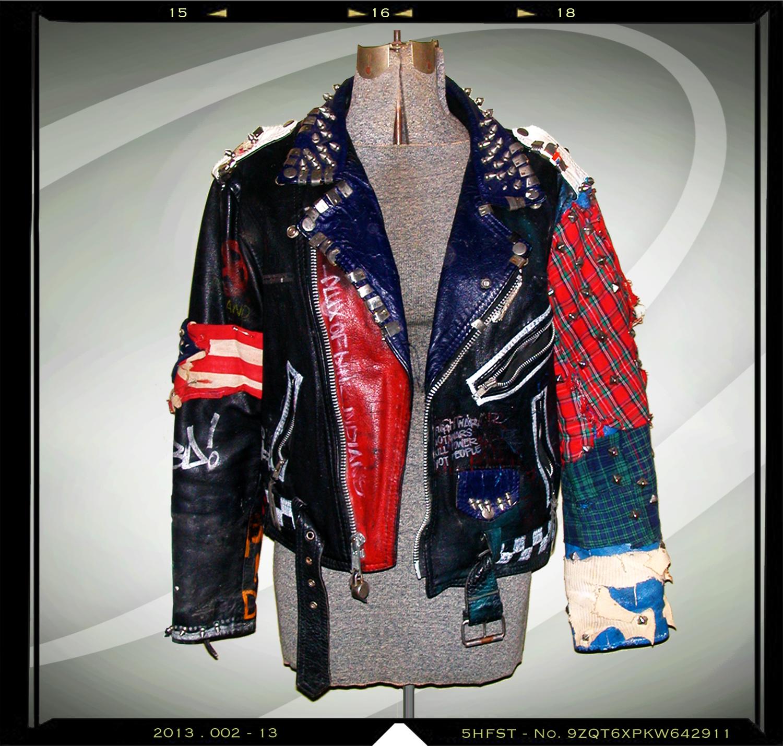 { leather jacket } circa 1993