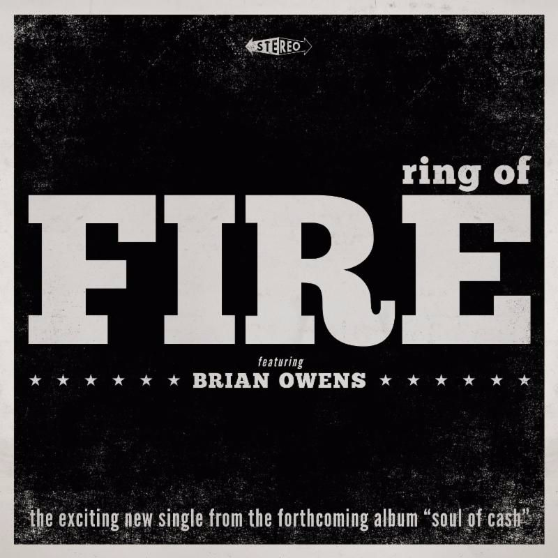 "musicologist/ writer KEIVU G.KNOX of the first single ""Ring Of Fire"" from the upcoming BRIAN OWENS project ""Soul of Cash"""