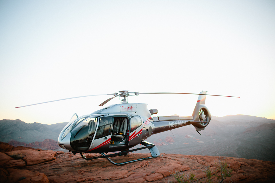 Valley of fire helicopter wedding