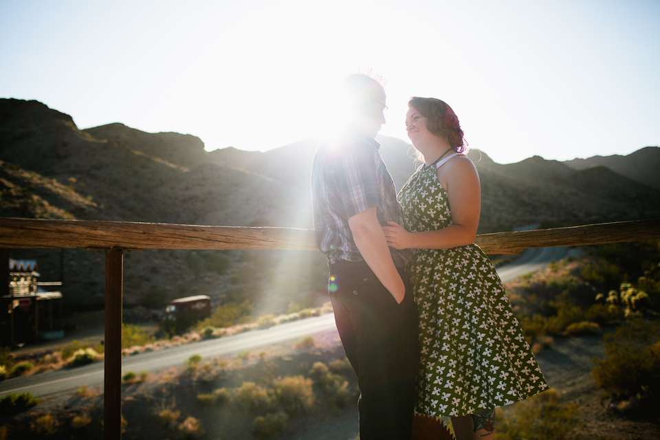 Las Vegas engagement photography
