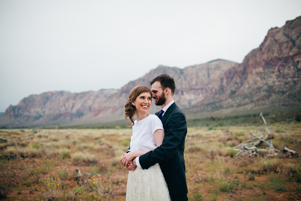 Red Rock canyon wedding photography