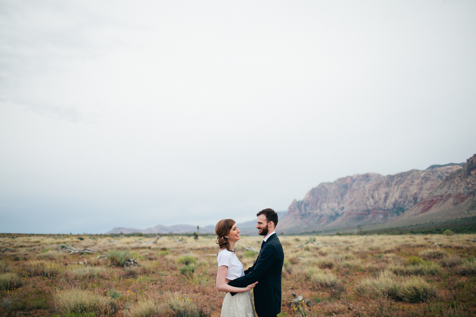Red Rock canyon elopement photography