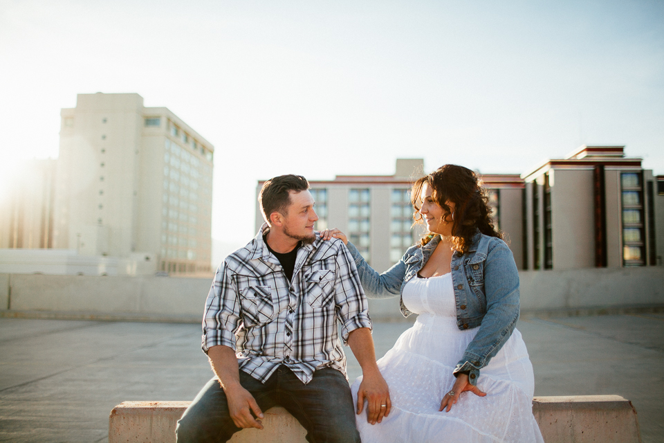 las vegas engagement photography