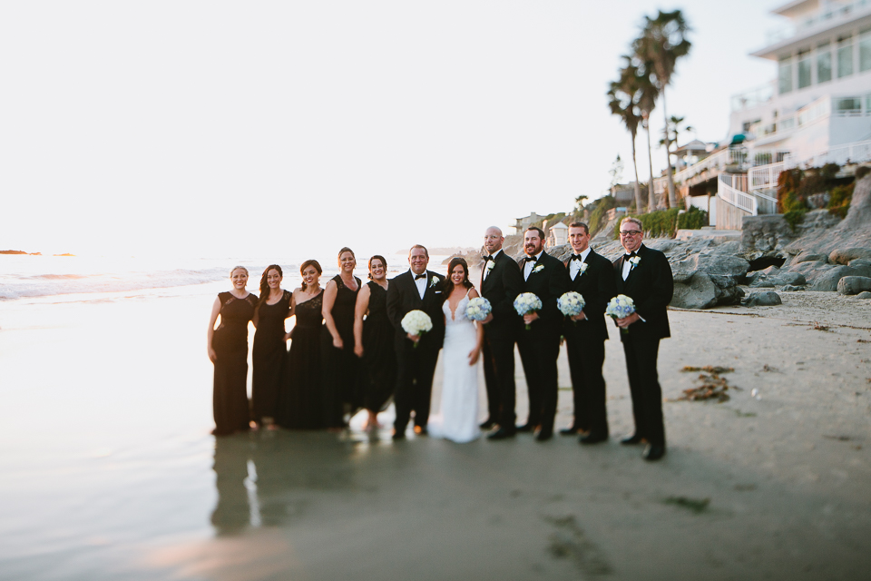 Surf and Sand Resort wedding photographer