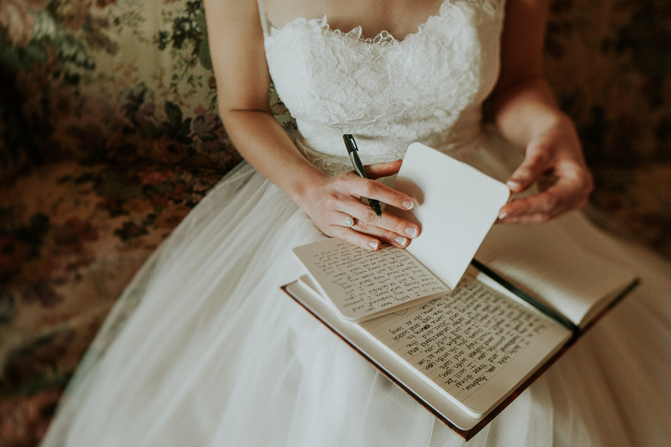 writing your own vows