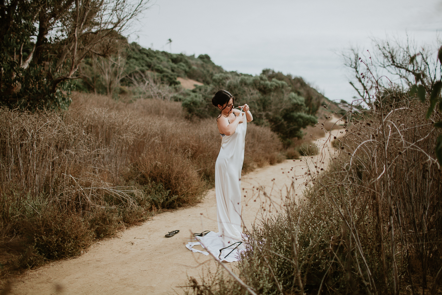 sunset cliffs elopement
