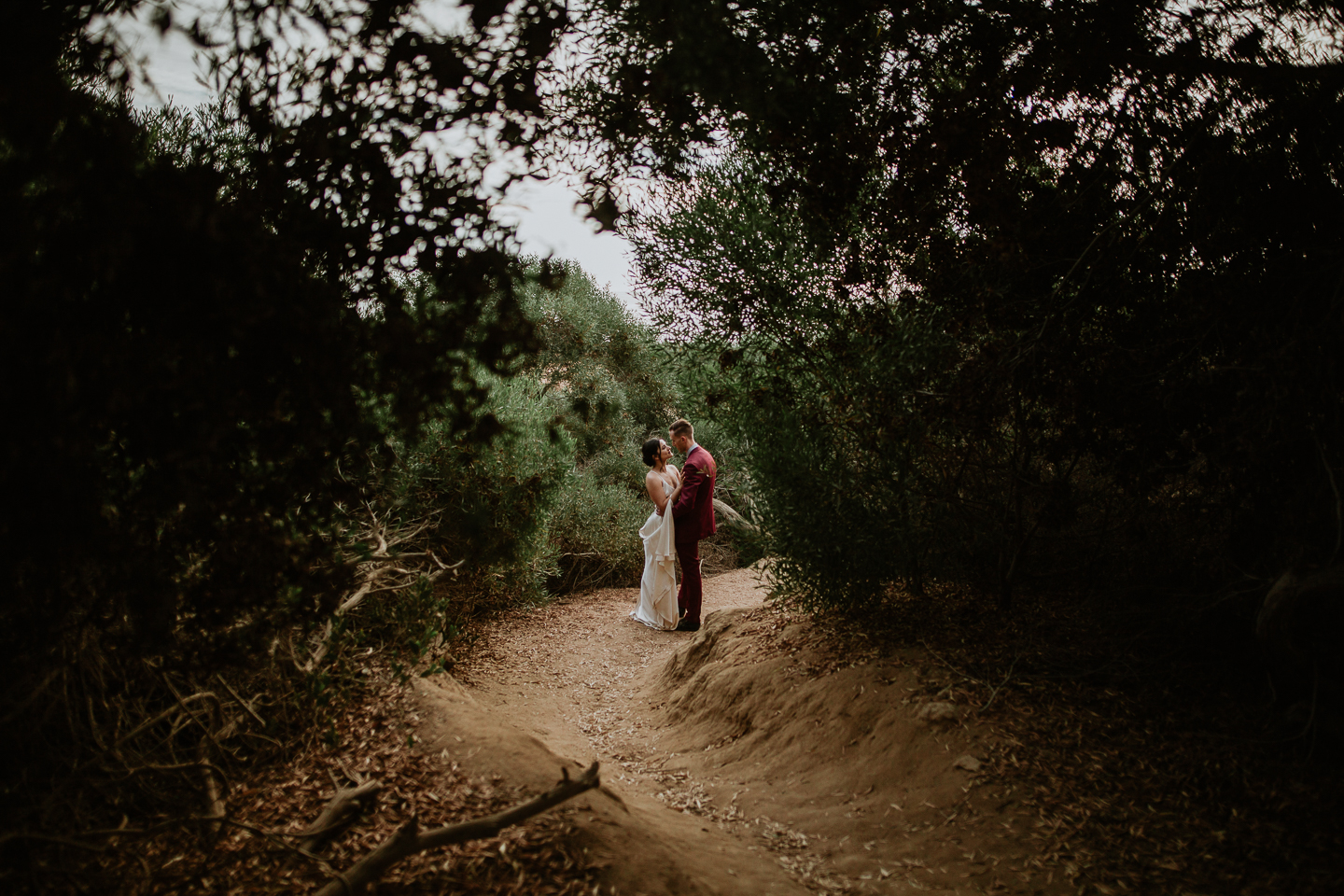 San diego intimate wedding photographer