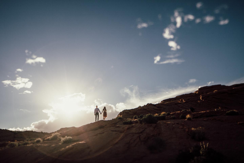 Antelope Canyon Engagement session