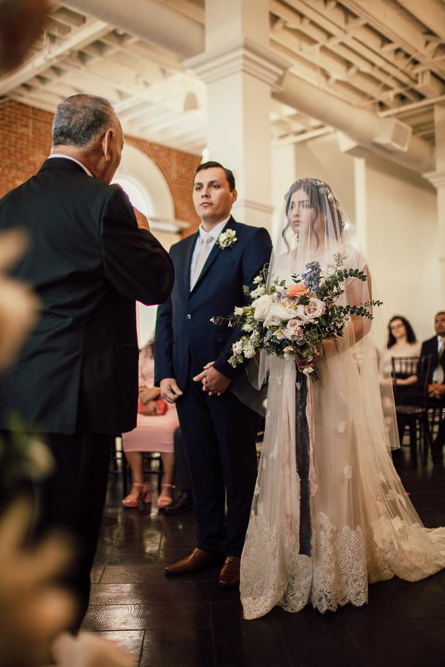 Pentecostal wedding ceremony