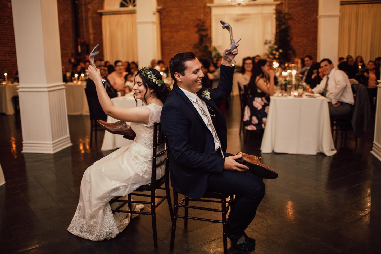 Pentecostal wedding games