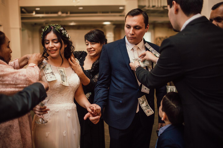 fun Pentecostal wedding