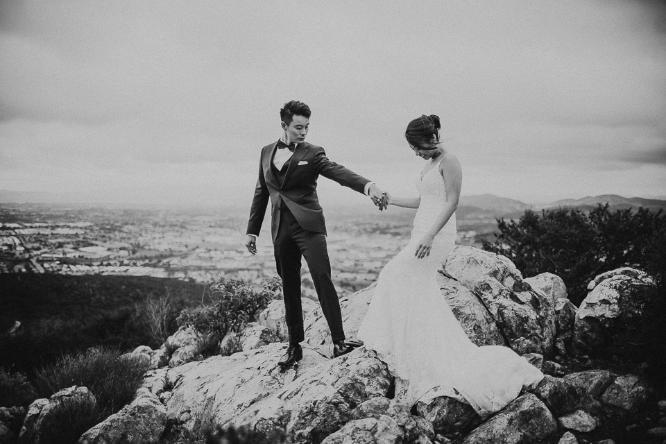 adventurous san diego wedding