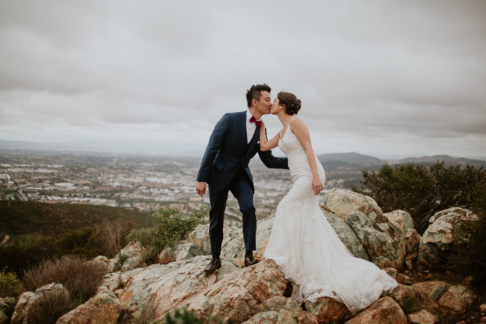 hill top san diego wedding