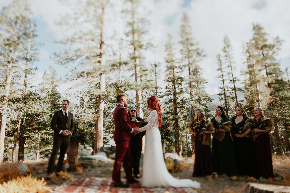 pokonobe lodge wedding ceremony