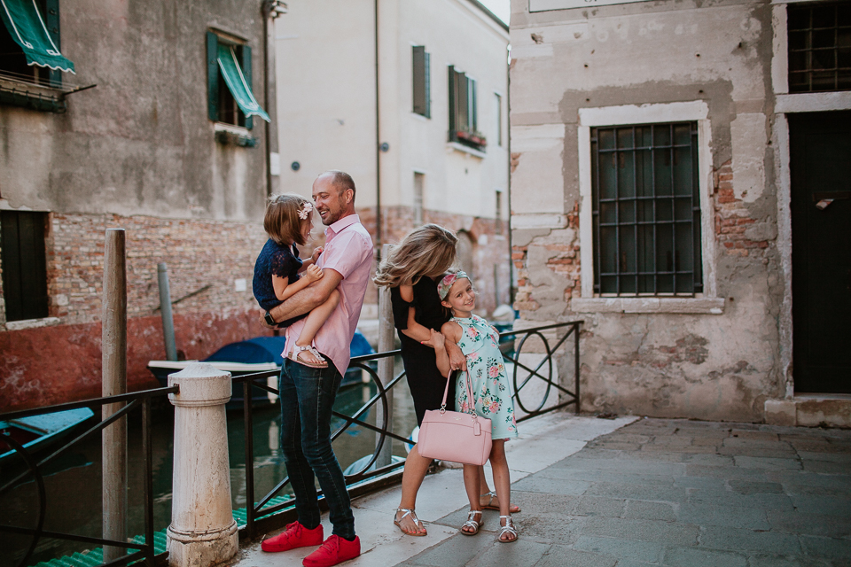 Venice Italy family photographers